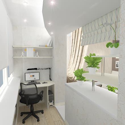 Трехкомнатная квартира: Бассейн в . Автор – Design Rules