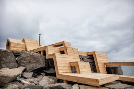 The Bands, Norway: scandinavian Houses by Scarcity and Creativity Studio