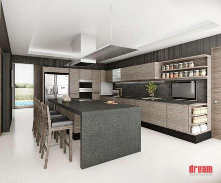 Cocina: Cocinas de estilo moderno por Estudio Meraki