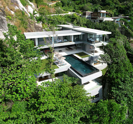 Villa Amanzi: modern Houses by Original Vision