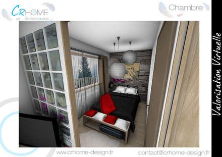 Chambre: Chambre de style de style Rustique par Crhome Design