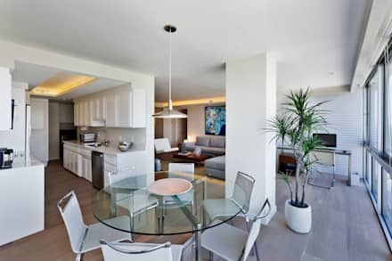 Comedor: Comedores de estilo moderno por Weber Arquitectos