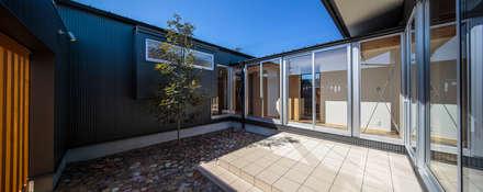 和光の家: 梶浦博昭環境建築設計事務所が手掛けた庭です。