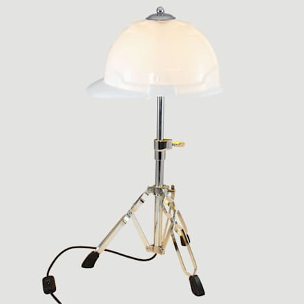 'GET AHEAD GET A HAT' TABLE LAMP/DESK LIGHT  : eclectic Study/office by it's a light