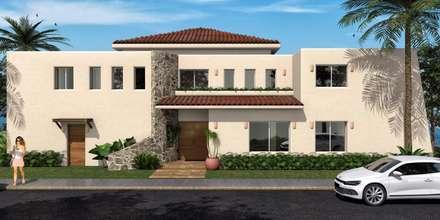 Estilo tropical ideas e inspiraci n para espacios homify for Fotos de fachadas de casas estilo californiano