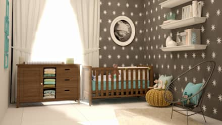 classic Nursery/kid's room by CONTRASTE INTERIOR