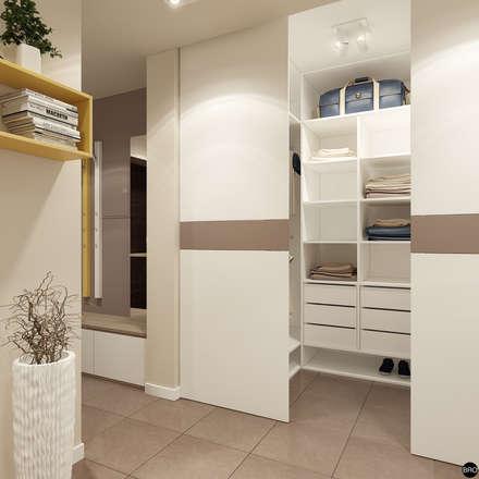 2-к квартира для молодой семьи: Коридор и прихожая в . Автор – BRO Design Studio
