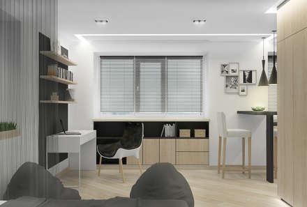 рабочее место: Рабочие кабинеты в . Автор – Архитектурная мастерская 'SOWA'