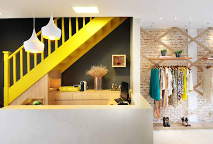 Offices & stores by Thaisa Camargo Arquitetura e Interiores