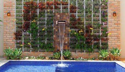 modern Garden by Moran e Anders Arquitetura