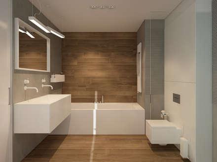 Baños de estilo minimalista por FAMM DESIGN