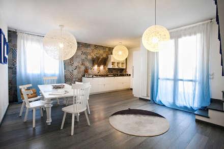 غرفة السفرة تنفيذ Alessandro Corina Interior Designer