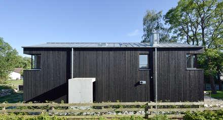Eingangssituation:  Satteldach von Möhring Architekten