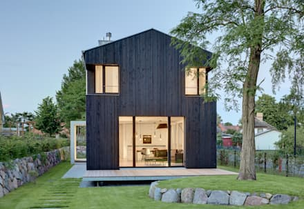 Ansicht Giebel:  Satteldach von Möhring Architekten