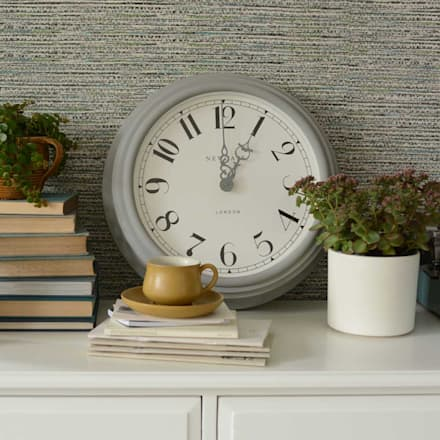 Newgate Dormitory Clock: country Living room by The Cotswold Company