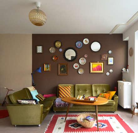 Einrichten mit Vintage - Mein eigenes Zuhause: ausgefallene Wohnzimmer von Mighty Vintage
