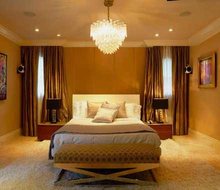 ห้องนอน by Elías Arquitectura