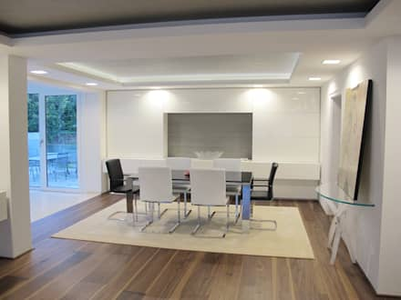 Nussbaum Dielen 4 m lang:  Wände von Hammer & Margrander Interior GmbH