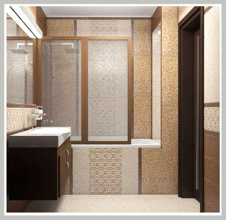 Ванная комната Вид 3: Ванные комнаты в . Автор – Рязанова Галина