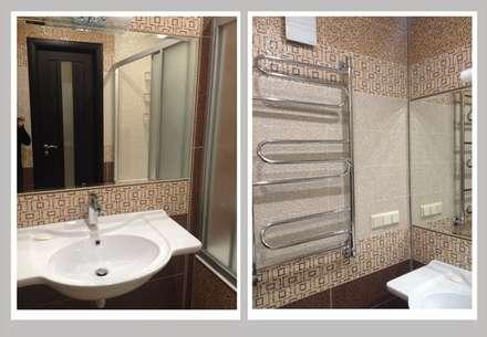 Фото Ванная комната : Ванные комнаты в . Автор – Рязанова Галина
