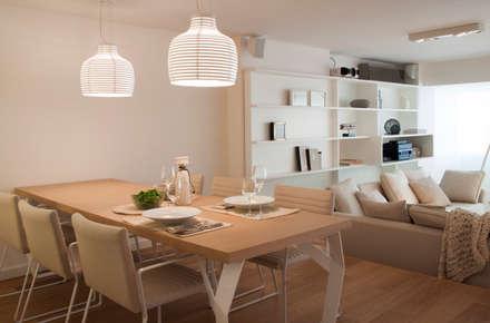 modern Dining room by Paula Herrero | Arquitectura