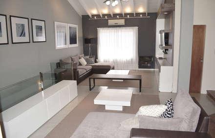 Remodelacion PH / Pent House: Livings de estilo rústico por Estudio Nicolas Pierry