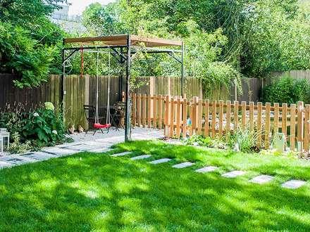Garten gartengestaltung ideen und bilder homify for Kleinen garten gestalten ideen