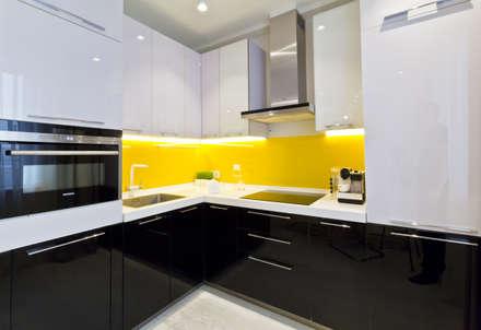 Квартира на улице Маршала Малиновского. Реализация: Кухни в . Автор – Zed-design