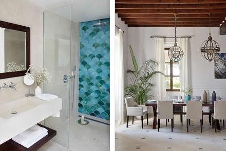 حمام تنفيذ Bloomint design