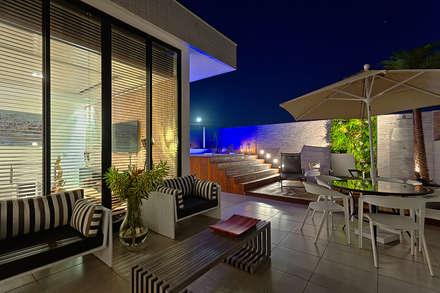Spa de estilo moderno por Lucas Lage Arquitetura