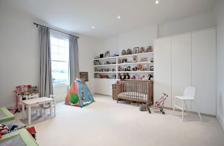 Woodville Gardens: modern Nursery/kid's room by Concept Eight Architects