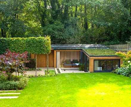 Garten Haus: moderner Garten von Paul Marie Creation
