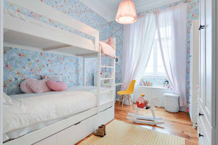 Girls Bedroom by LAVRADIO DESIGN