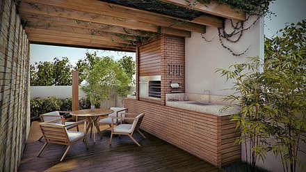 Patios & Decks by Martins Lucena Arquitetos