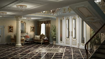 Бизнес в классике: Офисные помещения в . Автор – Art Style Design