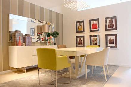 Sala de Jantar: modern Dining room by Movelvivo Interiores