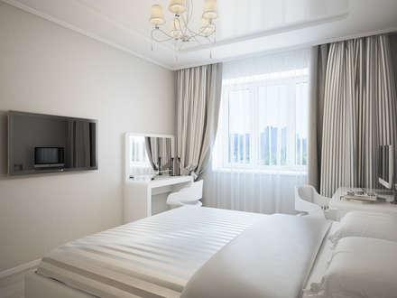 Дизайн проект квартиры 98 м2: Спальни в . Автор – Artstyle