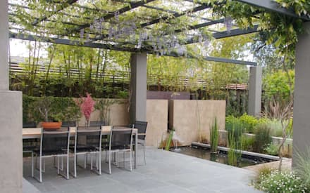 Terrassen terrassengestaltung ideen und bilder homify - Decoration terrasse avec bambou ...