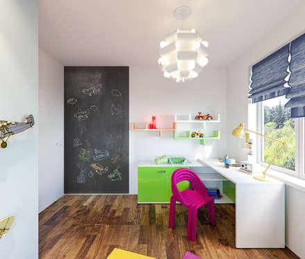 Children rooms in Frankfurt am Main, Hessen, Germany: moderne Kinderzimmer von Insight Vision GmbH