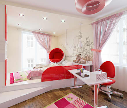 moderne kinderzimmer ideen inspiration homify. Black Bedroom Furniture Sets. Home Design Ideas