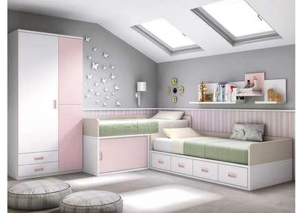 Ambientes: Dormitorios de estilo moderno de MUEBLES COVES