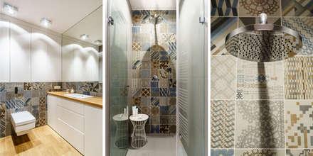 industrial Bathroom by Anna Maria Sokołowska Architektura Wnętrz