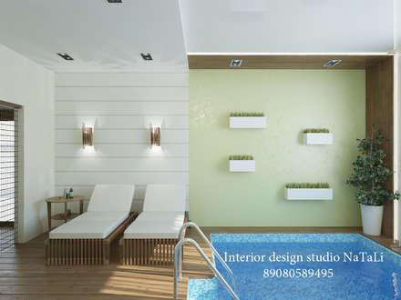 Студия дизайна интерьера Натали: Бассейн в . Автор – Interior design studio NaTaLi ( Студия дизайна интерьера Натали)