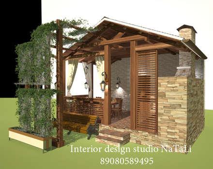 Дизайн интерьера: Сады в . Автор – Interior design studio NaTaLi ( Студия дизайна интерьера Натали)