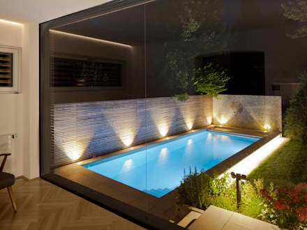 Moderner garten mit pool  Moderne Pools | homify