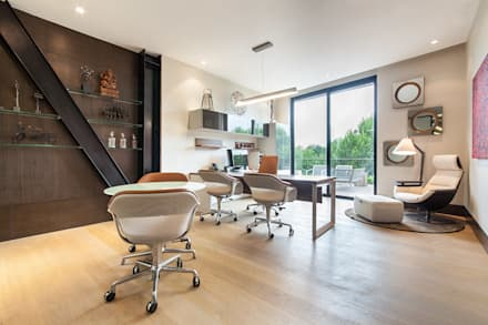 modern Study/office by Ofis Design