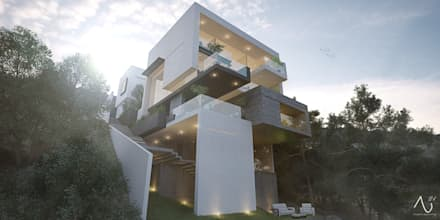 منازل تنفيذ 21arquitectos