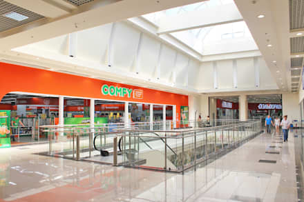 Интерьер III-очереди строительства ТРЦ КАРАВАН: Торговые центры в . Автор – GP-ARCH