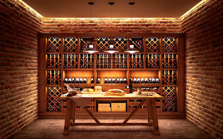 classic Wine cellar by ARTteam