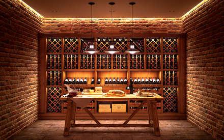 ห้องเก็บไวน์ by ARTteam